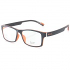 G8202 Stylish Lightweight TR90 Frame PC Lens Sports Optical Eyeglasses - Black + Red