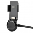 MFI D8 Bil Sigarettlighter Powered FM-sender m / Telefonholder til IPHONE 4 / 4S / 3 - Svart