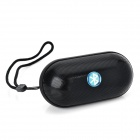 B15 Mini Wireless Bluetooth V3.0 Speaker w/ FM / Mic. / Mini USB / AUX / TF - Black