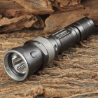 JETBeam RRT26 White + RGB 980lm 5-Mode Tactical Flashlight w/ Cree XM-L2 + 3-LED - Black (1 x 18650)