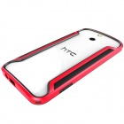 NILLKIN Protective PC + TPU Bumper Frame Case for HTC One (E8) - Red