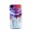 Rainbow Dreamcatcher Pattern TPU Back Case for IPHONE 4 / 4S