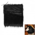 Lion Cosplay Artificial Wool Wig for Pet Dog - Black