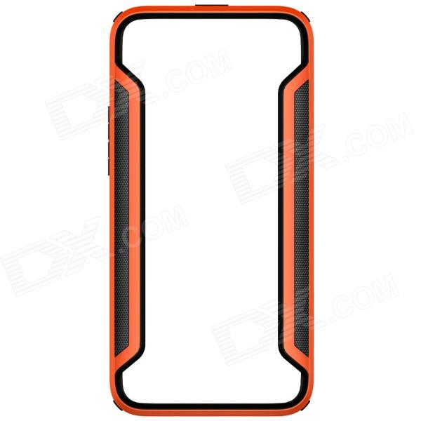 NILLKIN Protective PC + TPU Bumper Frame Case for HTC One (E8) - Orange protective tpu   pc bumper frame for lg