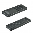 Brilink AM6-B 2.4GHz Mini Wireless Keyboard + IR Remote + Air Mouse + Audio Chat - Black
