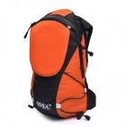 Bikeman R/C Luminous Safety Warning Direction Backpack - Orange (5L)