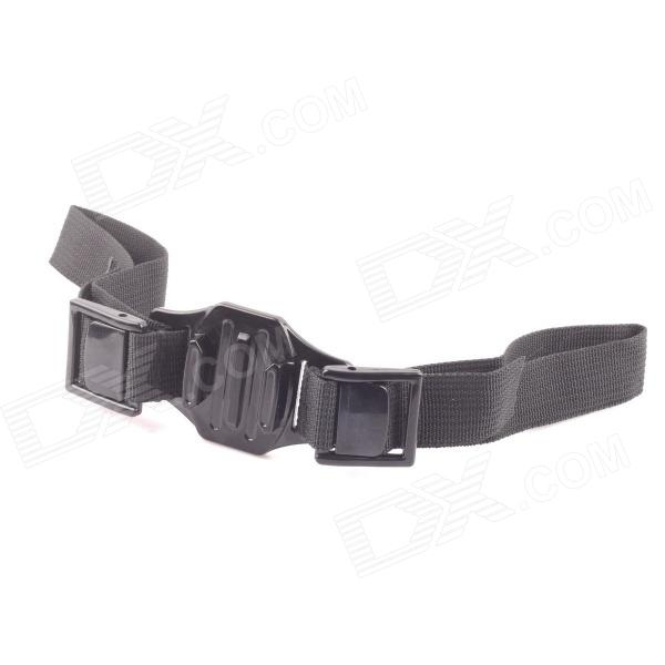 PANNOVO Helmet Strap Mount for Gopro Hero 4/ / 2 / 3 / 3+ / SJ4000