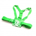 PANNOVO Chest Elastic Belt Shoulder Strap Mount for GoPro HD Hero2 / Hero3 / 3+ / SJ4000