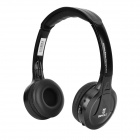 Bingle B616 Wireless Headband Headphone w/ FM / Mic. + Transmitter - Black