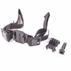 PANNOVO Helmet Hand Strap Mount w/ Quick Assemble Plug for GoPro Hero / 2 / 3 / 3+ / SJ4000