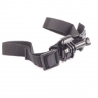 Helmet Hand Strap Mount w/ Quick Assemble Plug for Gopro - Black