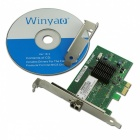 Winyao WY576F PCI-E X1 1000Mbps Fiber Network Card - Green