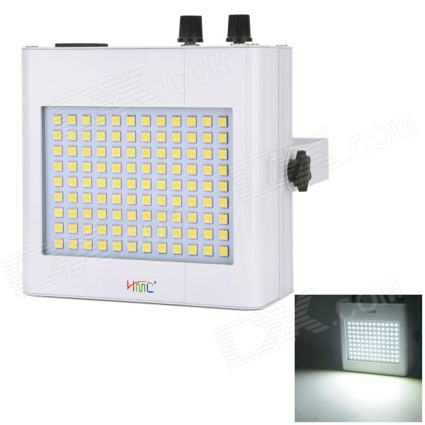 HML T108 25W Professional 108-LED SMD 5050 White Light Flashing Stage Light - White (AC 90~240V)