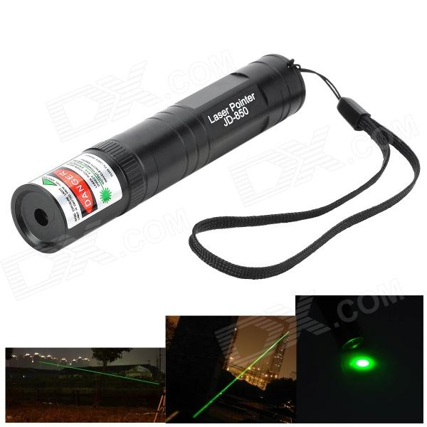 Marsing JD-850 5mW 532nm Green Laser Pointer Flashlight (1 x 16340)