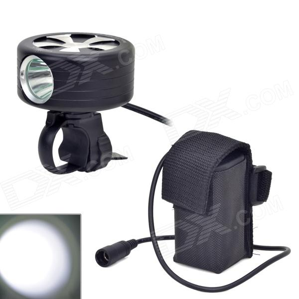 VICMAX VI-06 Rotatable 800lm 3-Mode Cool White Bicycle Headlamp w/ Cree XM-L2 T6 - Black (4 x 18650) 600lm 3 mode white bicycle headlamp w cree xm l t6 black silver 4 x 18650