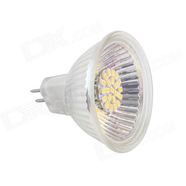 Gotrade 981 MR11 5W 190lm 3000K 50-SMD 3020 LED Warm White Light  Lamp - White + Silver (AC 12V)