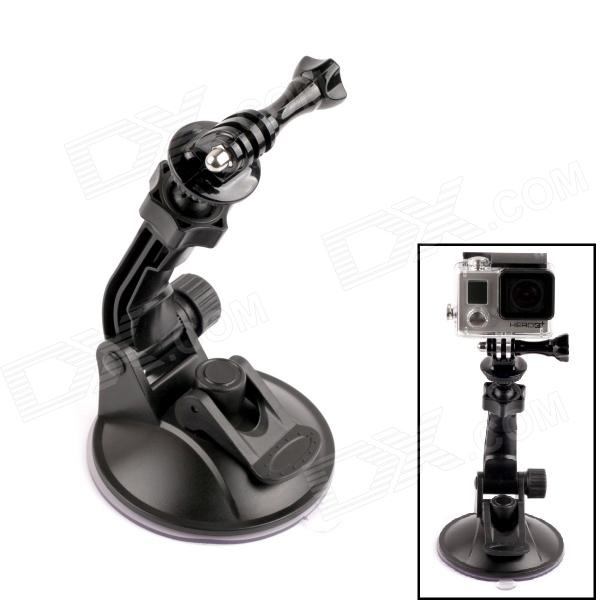 PANNOVO 360 Degree Rotation Super Powerful Car Suction Cup Mount for Gopro 2 / 3 / 3+ / SJ4000
