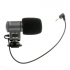 SHENGGU SG-107 Mini Professional Stereo Microphone for SRL Camera / DV Camcorder