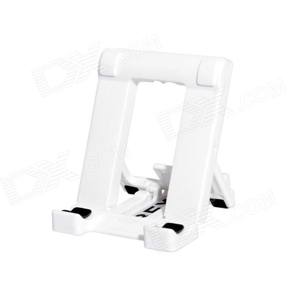 BEXIN Universal Mini Desktop Adjustable Mobile Phone Stand Holder - White