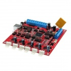 Geeetech Rambo Version 1.2a Controller Board for 3D Printer - Red