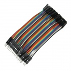 DIY Male to Female DuPont Breadboard Jumper Wires (40PCS / 10cm)