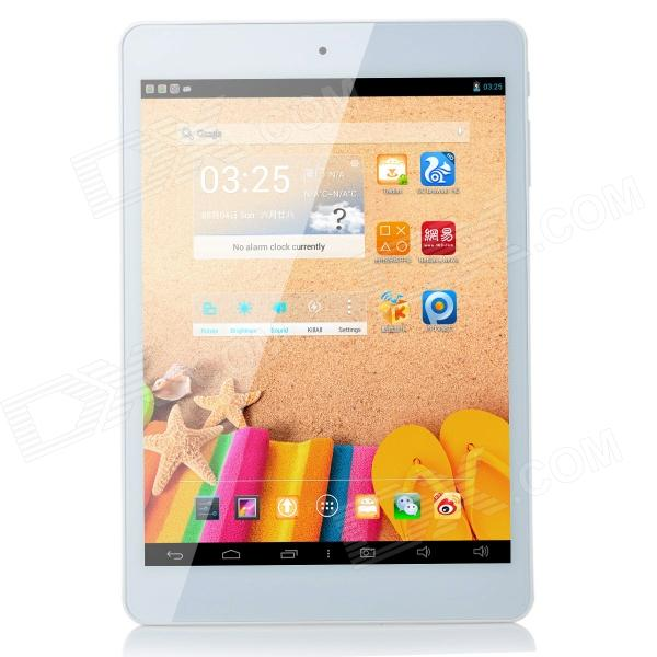 Teclast P89S Mini 7.9'' IPS Android 4.2.2 Dual Core Tablet PC w/ 1GB RAM, 16GB ROM - White created x8s 8 ips octa core android 4 4 3g tablet pc w 1gb ram 16gb rom dual sim uk plug