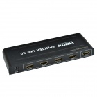 CHEERLINK HDSP4 1-В 4-Out 4K х 2К 3D HD 1080P HDMI v1.4a Splitter - черный