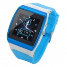 "Uwatch UPRO 1.55"" Screen GSM Watch Phone w/ Quad-band, SIM Card, 300KP Camera - Blue + White"