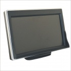 "Carking YG-538 5"" LCD Parking Monitor for Car w/ 2 Ways Video Input - Black + Silver"
