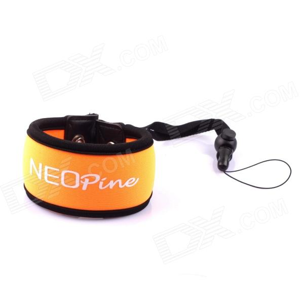 NEOpine Nylon Camera Wrist Strap for Gopro Hero 3+ / 3 / 2+ - Orange + Black neopine travel portable camera accessories storage bag for gopro hero 2 3 3 4 red