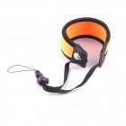 NEOpine Nylon Wrist Camera Strap para GoPro Hero 3 + / 3/2 + - Orange + Black