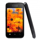 "Lenovo A66 Android 2.3 WCDMA Bar Phone w/ 3.5"" Screen, Wi-Fi, GPS  Dual SIM - Black"