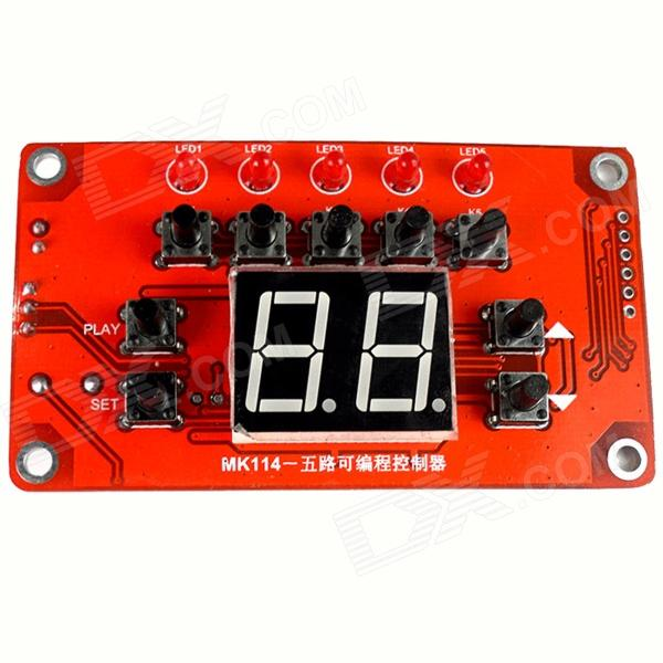 XH-M114 0.56 'Display rojo programable controlador de salida de LED-Rojo