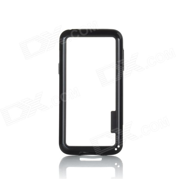 Protective TPU + PC Bumper Frame for Samsung Galaxy S5 Mini - Black