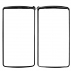 LOVE MEI Protective Aluminum Alloy Bumper Frame for LG G3 - Black