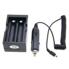 AC/Car Lithium Battery Charger for 18650 (100V~240V/12~24V)