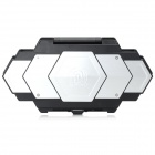 ATPSV05 Creative Cool Protective Storage Case Box for PS Vita 1000 - Black + Silver