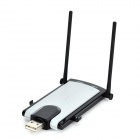 LINKSYS WUSB300N USB 2.0 300Mbps Wireless Network Card w/ Indicator - Black + Grey