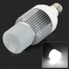 E27 20W 1400lm 6000K 4-COB LED White Light Lamp - Silver + White (AC 85~265V)