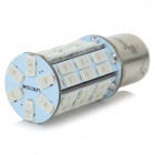 SENCART 1142 10W 420lm 590nm 5730 SMD LED jaune Lampe Light Car (DC 12 ~ 16V / 2PCS)