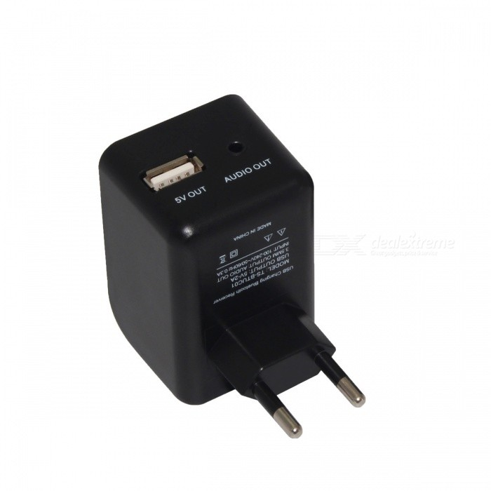 TS-BTUC01 5V 2A USB Charger + 3.5mm Bluetooth Audio Receiver