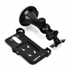 Convenient Car Mounted ABS Holder + Back Clip Case for LG G3 - Black