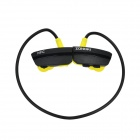 ZONOKI B97S Sport Bluetooth V4.0 Earhook Headset w/ Microphone - Black + Yellow