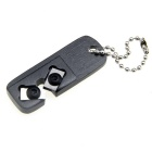 Mini Portable 60' Interior Angle Tungsten Steel Knife Grinder Sharpener - Black