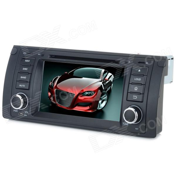 Klyde KD-7211 7 Capacitive Screen Android 4.2.2 Dual-Core Car DVD Player w/ Bluetooth Wi-Fi for BMW klyde kd 7213 7 0 touch screen dual core car dvd player w gps 8gb flash wifi for bmw black