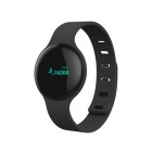 SANSUI H1 Sports Bluetooth V4.0 Smart Wrist Bracelet Watch w/ Sleep Tracker - Black