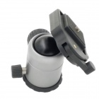POPLAR HY001 Aluminium Alloy Tripod Ball Cradle Head - Black + Grey