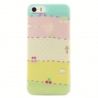 Ultra-Thin Protective TPU Back Case for IPHONE 5 / 5S - Multi-Color