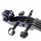 Elegant Violin Musical Toy with Built-in Songs for Kids / Children - Black + Blue (2 x AA)