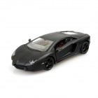 Lamborghini LP700-4 1:24 4-CH R/C Car w/ LED Lights - Black